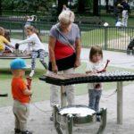 Outdoor muziekinstrumenten in de speeltuin - een prachtige combinatie