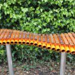 Duo Kassinda - alle noten uit Ipé-hardhout op oranje resonatoren
