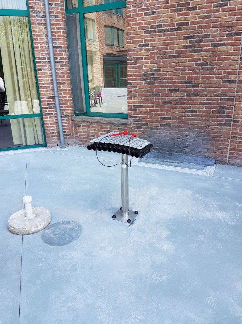 xylofoon voor buitenruimte woonzorgcentrum