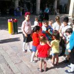 Voor de jonge kinderen veel kleur