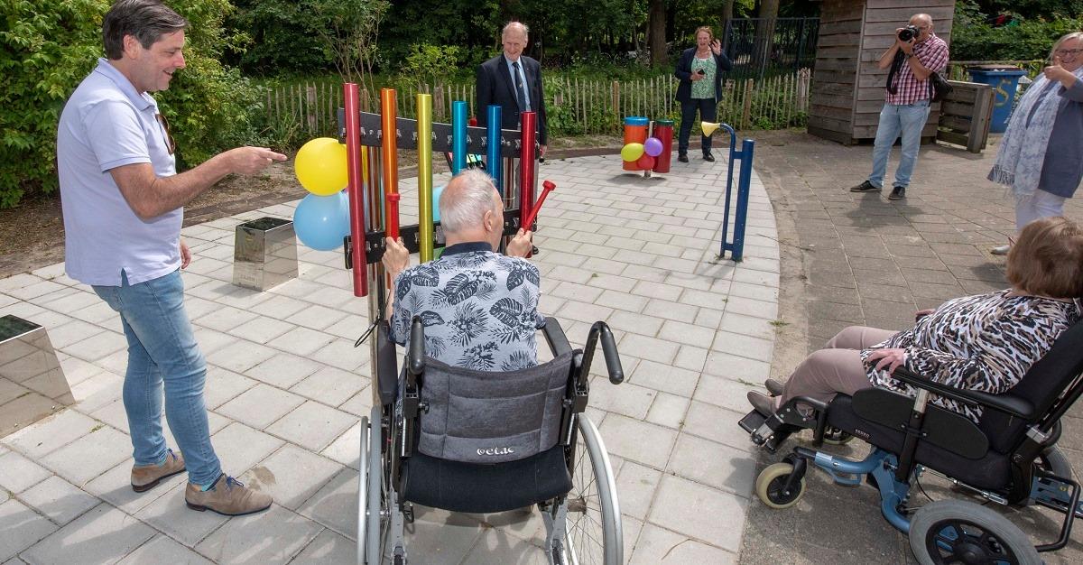 Feestelijke opening muziekplein Speelakker Noordwijkerhout