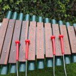 bekijk de grand marimba van percussionplay outdoor xylofoon voor zorginstellingen